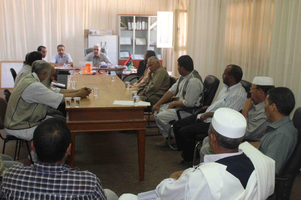 متابعة سير العملية التعليمية بمنطقة ماجر