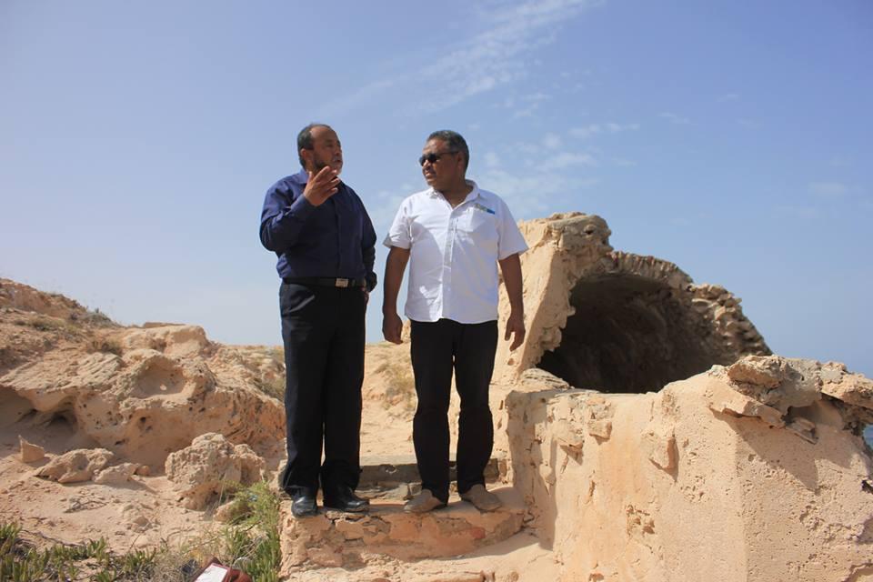 لجنة من جهاز إدارة المدن التاريخية والأثرية تزور بلدية زليتن