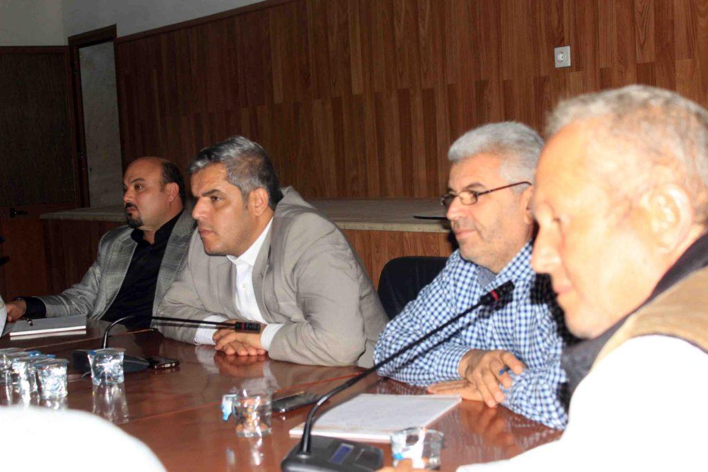 إجتماع يضم المجلس البلدي وممثلي جهاز تنمية وتطوير المراكز الإدارية