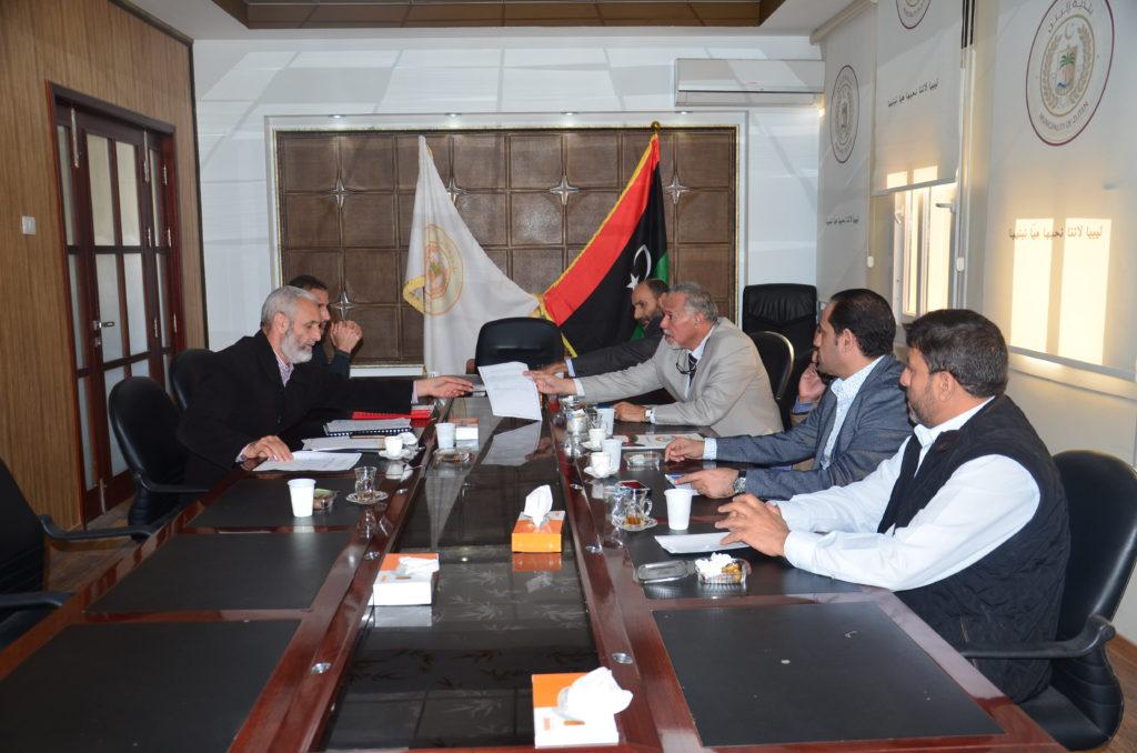 إجتماع بين بلدية زليتن والمؤسسة الوطنية للتعدين