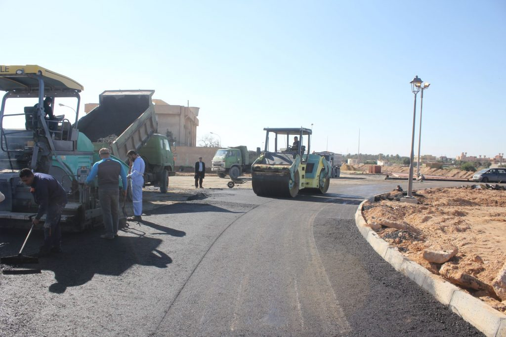 استكمال أعمال المرحلة ماقبل الأخيرة لمشروع جزيرة دوران 7 يناير بزليتن